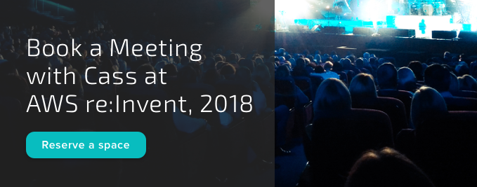Book a Meeting with Cass at AWS re:Invent